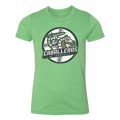 Charlotte Caballeros Youth Primary Ball Tee