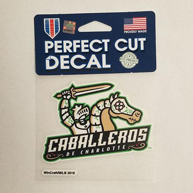 Charlotte Caballeros Perfect Cut Decal