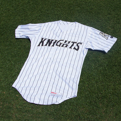 Charlotte Knights Official Wilson Home Jersey