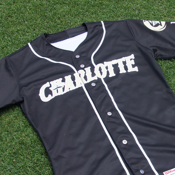 Charlotte Knights Official Wilson Alternate Jersey