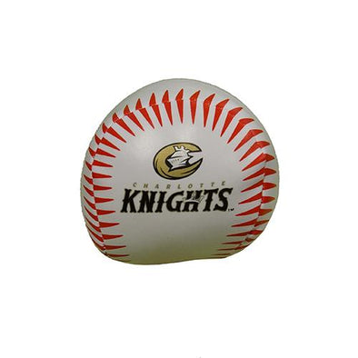 Charlotte Knights Logo Softee Baseball