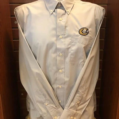 Charlotte Knights Dynasty Silver Button Down