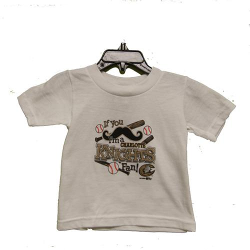 Charlotte Knights Infant If You Tee