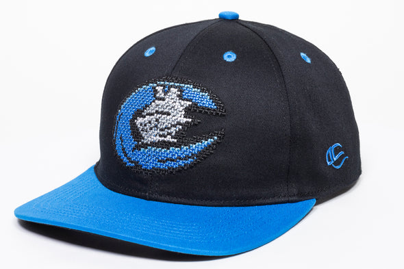 Youth 8 Bit Blue Cap