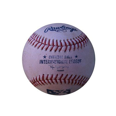 Charlotte Knights Game Used Baseball
