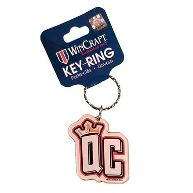Charlotte Knights Queen City Keychain