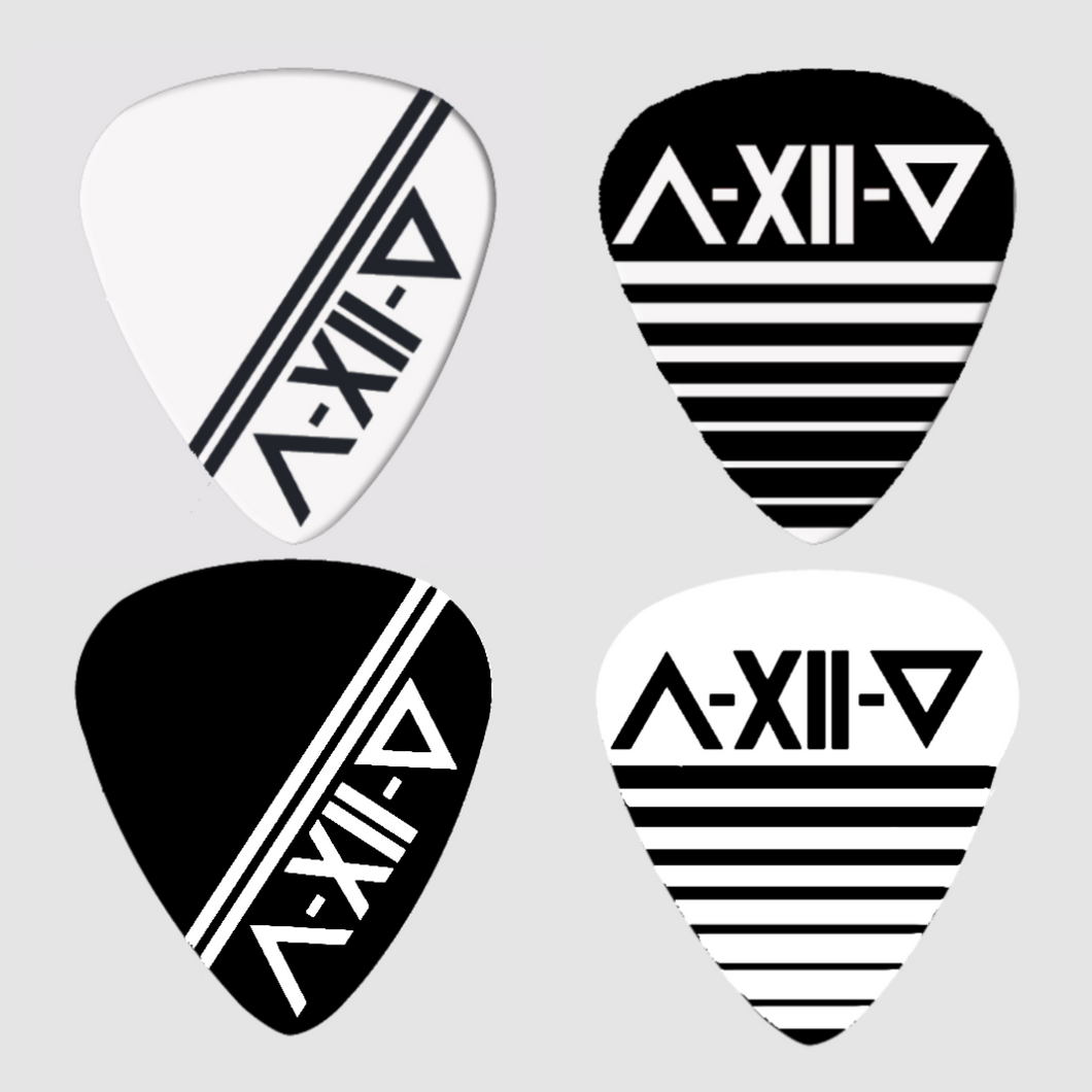 As December Falls Guitar Pick Pack