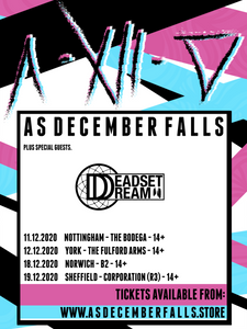 Deadset Dream and As December Falls
