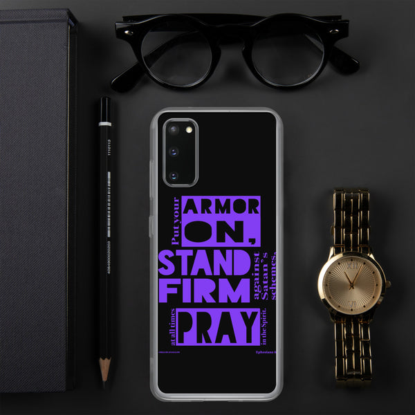 """Armor On!"" Samsung phone case - One-hundred Eleven Artwear"