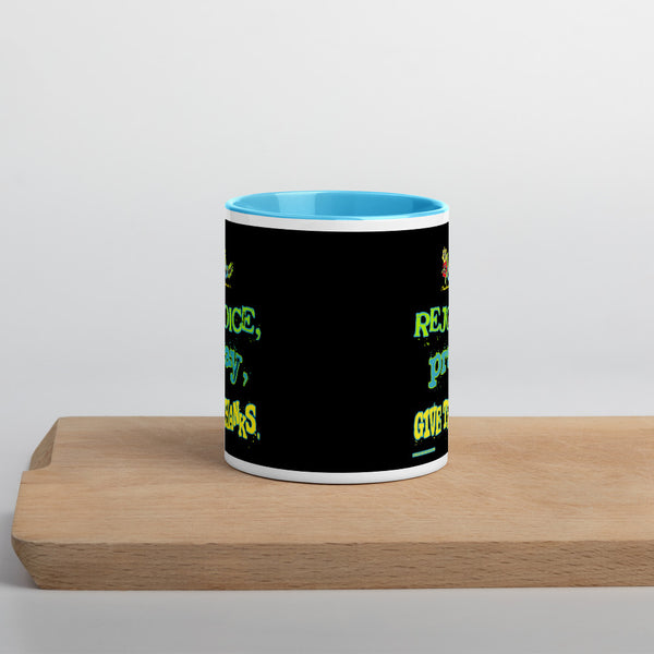 Mug with Color Inside - One-hundred Eleven Artwear