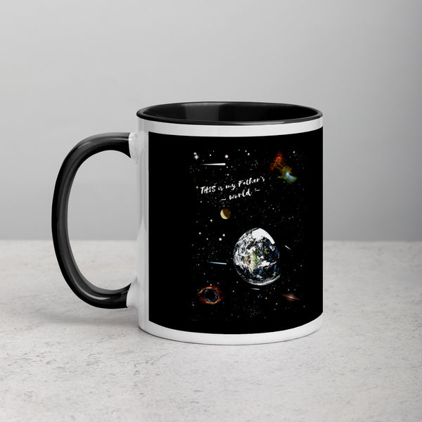 """This Is My Father's World"" 11 oz mug - One-hundred Eleven Artwear"