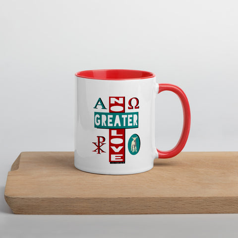 """NO GREATER LOVE"" 11 oz. coffee mug - One-hundred Eleven Artwear"