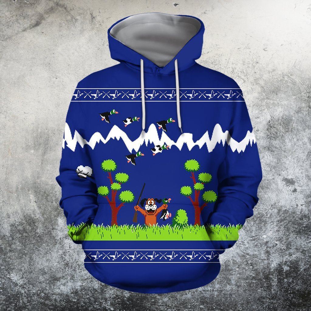 3D All Over Printed Duck Hunting NES - Amaze Style™-Apparel