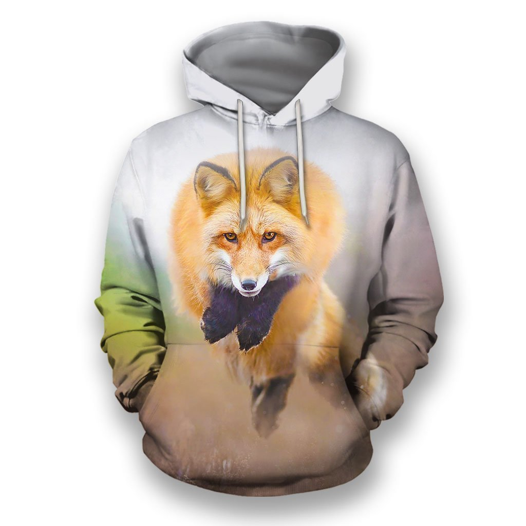 3D All Over Print Amazing Fox - Amaze Style™