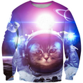 3D All Over Print AstroCat Men Hoodie - Amaze Style™-Apparel