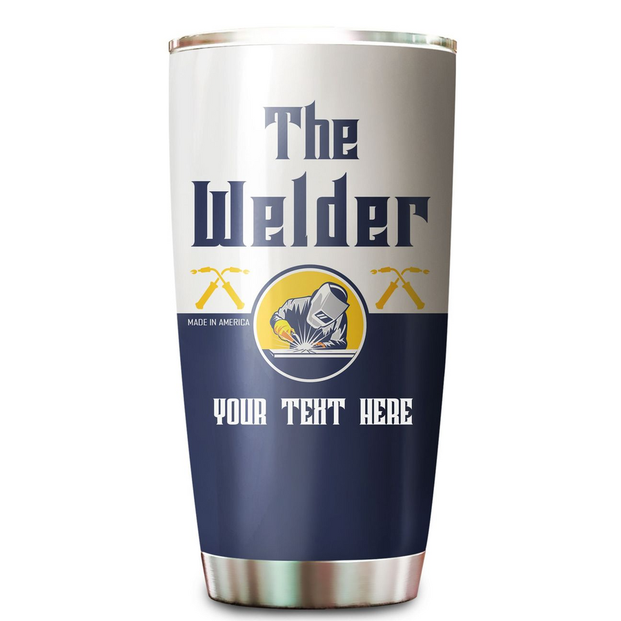Premium Personalized 3D Printed The Welder Stainless Tumbler - Amaze Style™