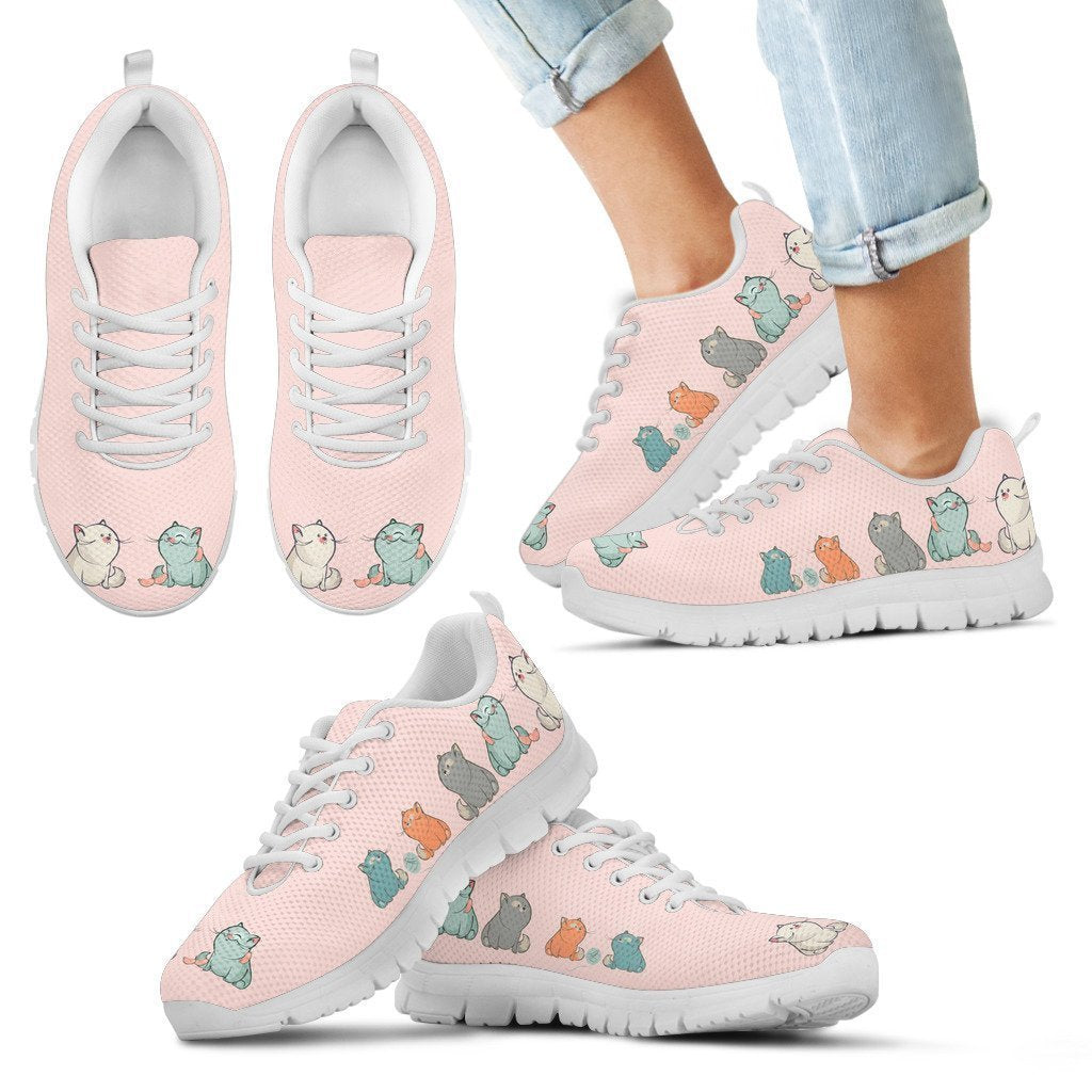 Cute cats Kid's Sneakers - Amaze Style™-