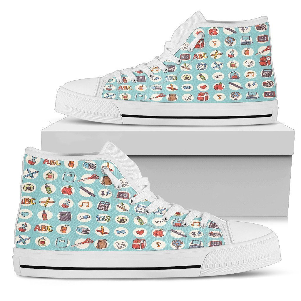 Back To School Women's High Tops - Amaze Style™-