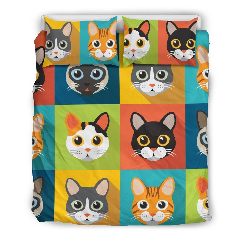 Cute Cats Bedding Set - Amaze Style™-