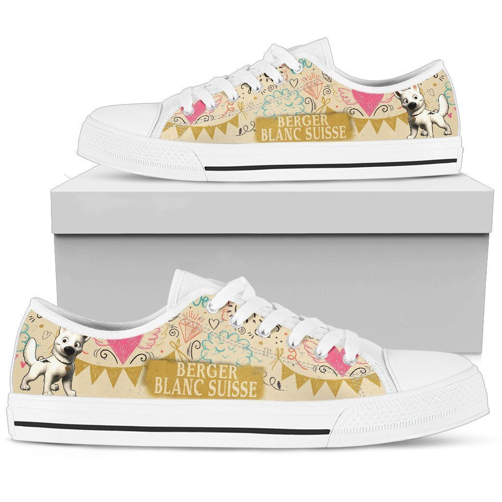 Berger Blanc Suisse Women's Low Top Shoe - Amaze Style™