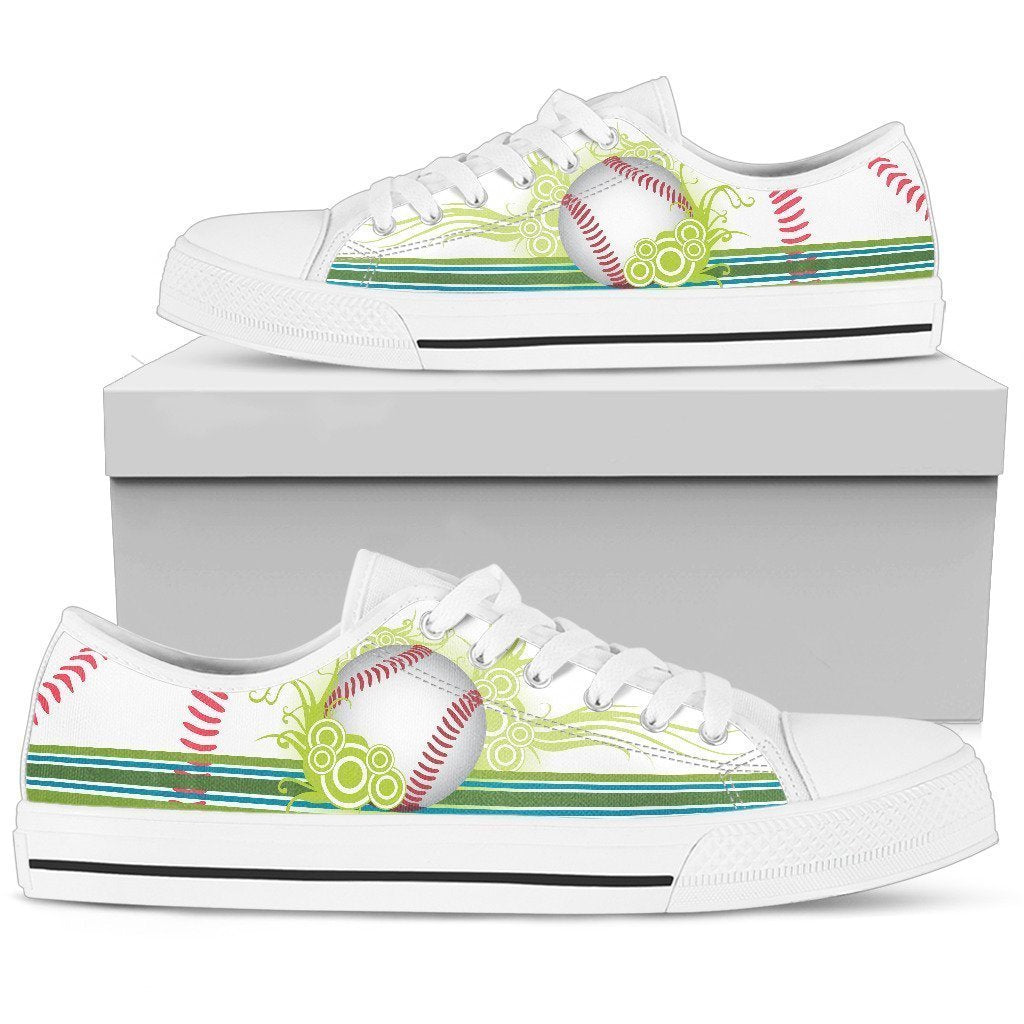 Baseball Women's Low Top Shoe - Amaze Style™