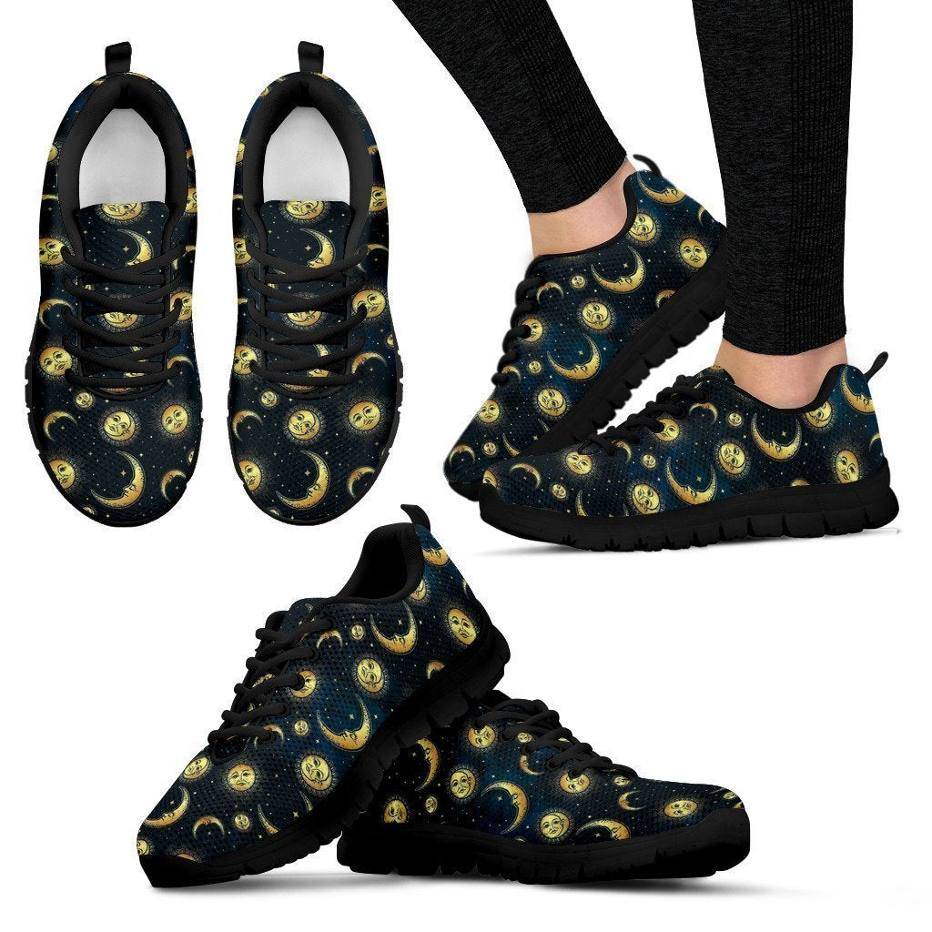 Sun and moon Women's Sneakers - Amaze Style™-