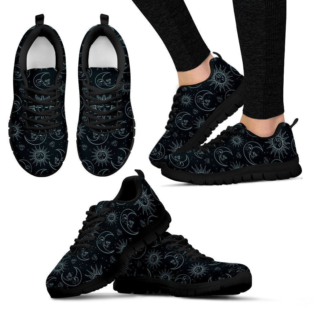 Dark pattern Women's Sneakers - Amaze Style™-