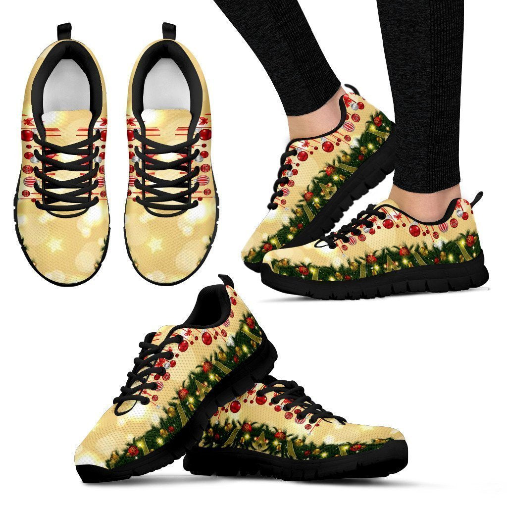 Balls of Christmas Women's Sneakers - Amaze Style™