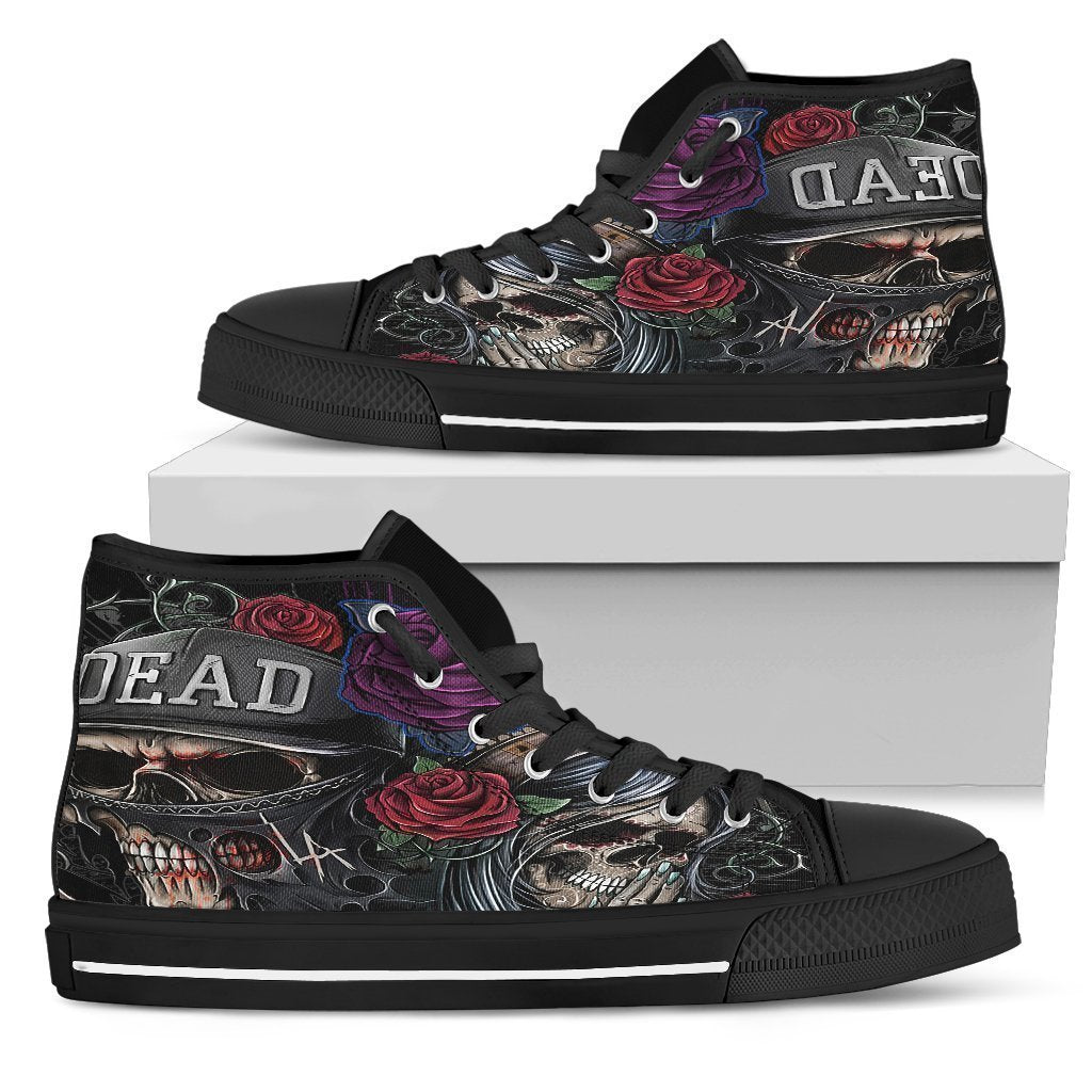 Day of the Dead Women's High Top Shoe - Amaze Style™-