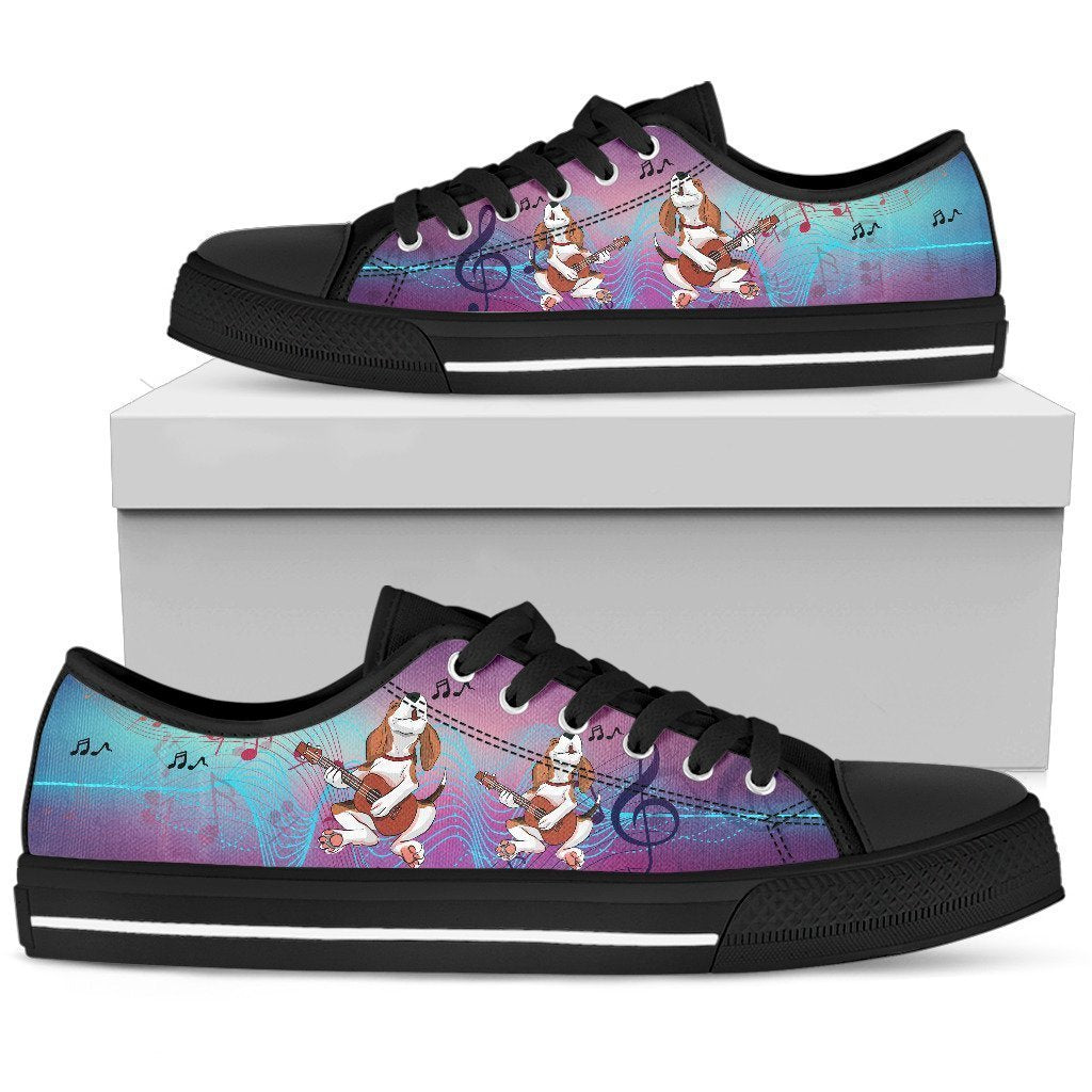 Beagle Women's Low Top Shoe - Amaze Style™-