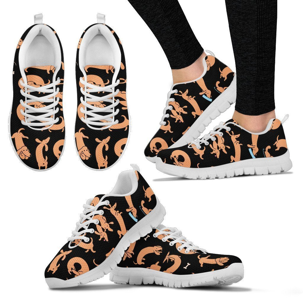 DACHSHUND LOVER SHOES - Women's Sneakers - Amaze Style™