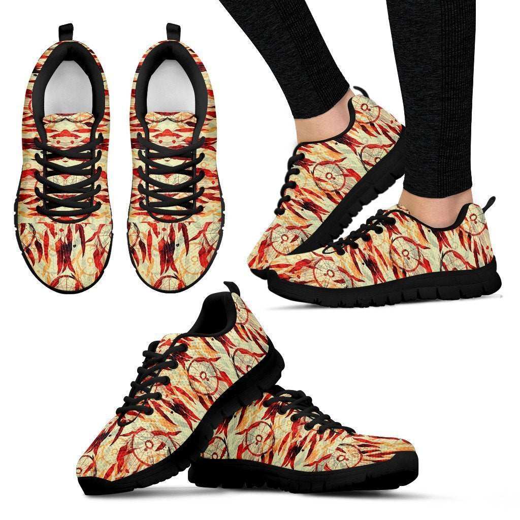 Abstract Women's Sneakers - Amaze Style™-