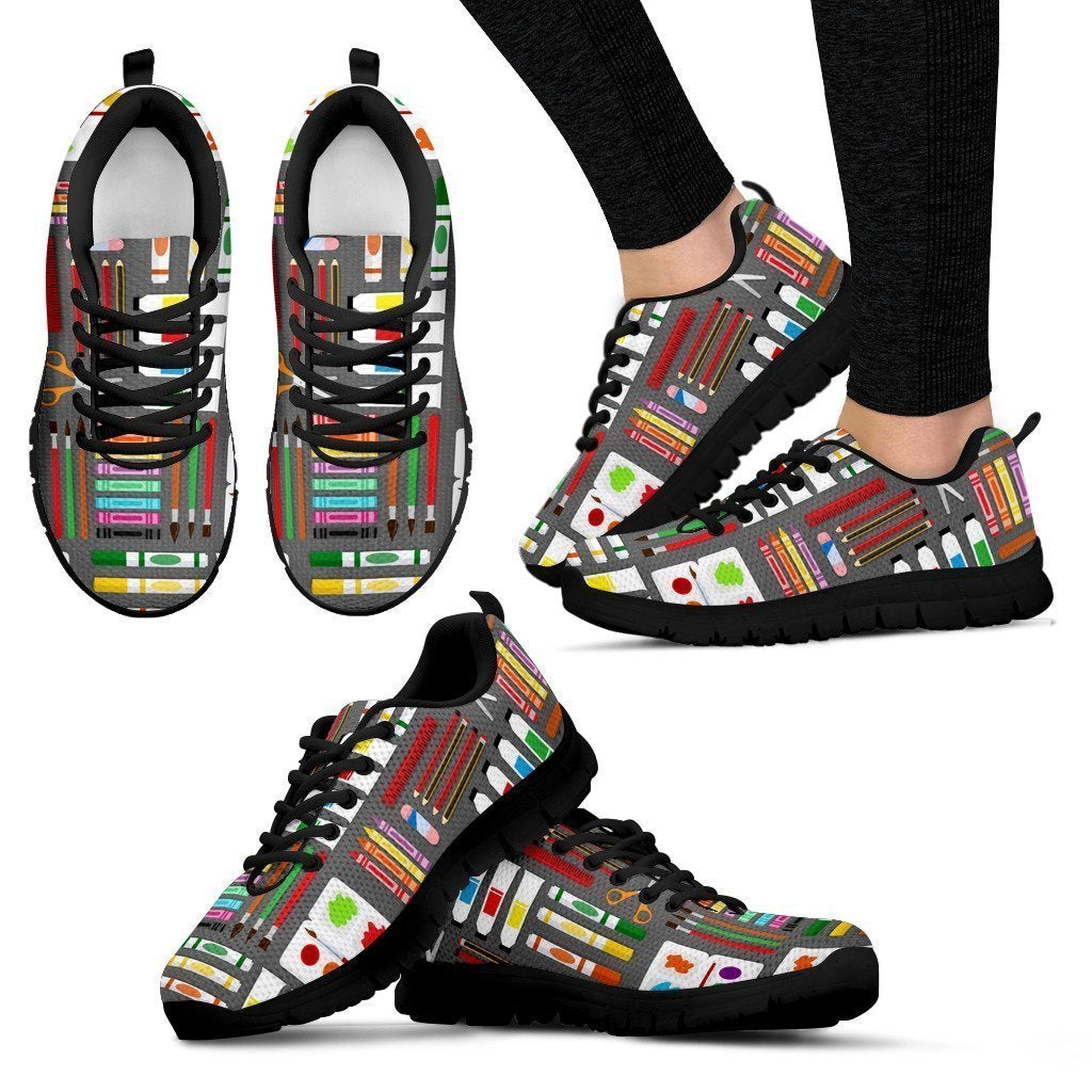 Arts & Crafts Women's Sneakers - Amaze Style™-