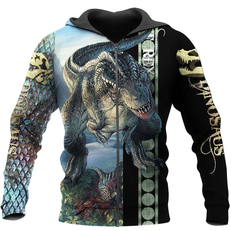 DINOSAUR ART 3D ALL OVER PRINTED SHIRTS MP899 - Amaze Style™-Apparel