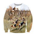 3D All Over Print Beagle Harrier Foxhound Hunting Dog - Amaze Style™