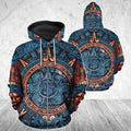 3D All Over Aztec Mexican Art Hoodie - Amaze Style™