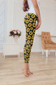 3D All Over Printing Sunflower Legging - Amaze Style™-Apparel