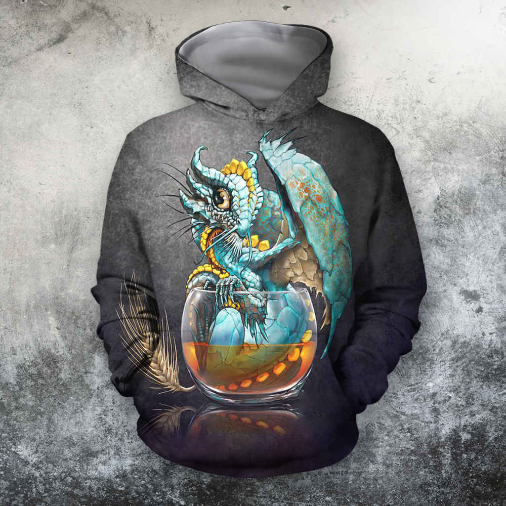 3D All Over Print Den Here Be Dragons - Amaze Style™-Apparel