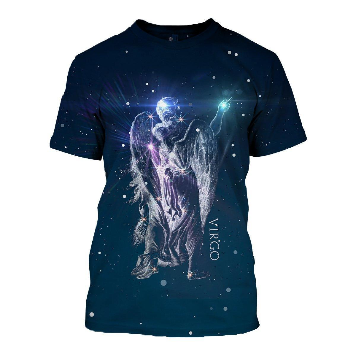 3D ALL OVER PRINTED VIRGO ZODIAC T SHIRT HOODIE NTH150829 - Amaze Style™-Apparel