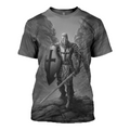 3D All Over Printed Knights Templar Shirt - Amaze Style™-