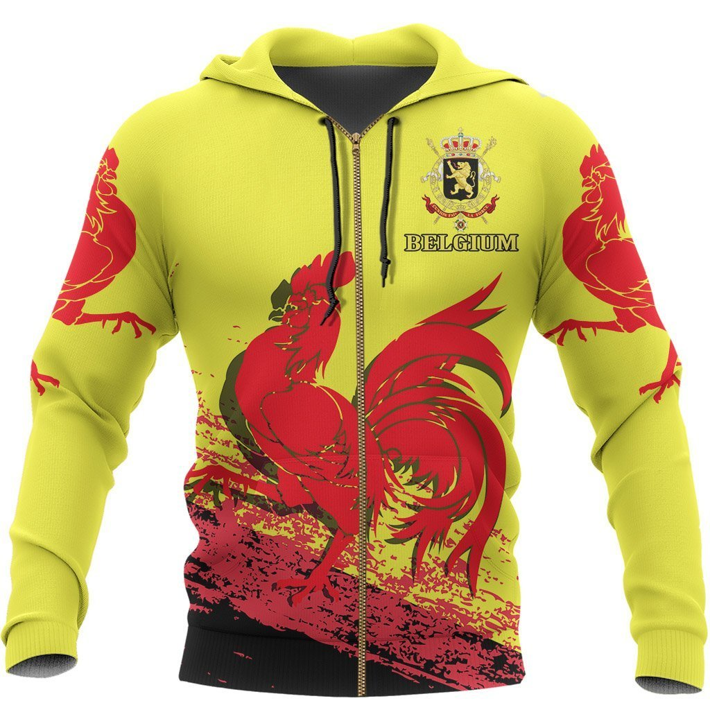 Belgium - Flag of Wallonia Special Hoodie A7 - Amaze Style™