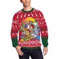 Australia Santa Is Coming™ - Christmas Sweatshirt K5 - Amaze Style™-CREWNECK SWEATSHIRTS