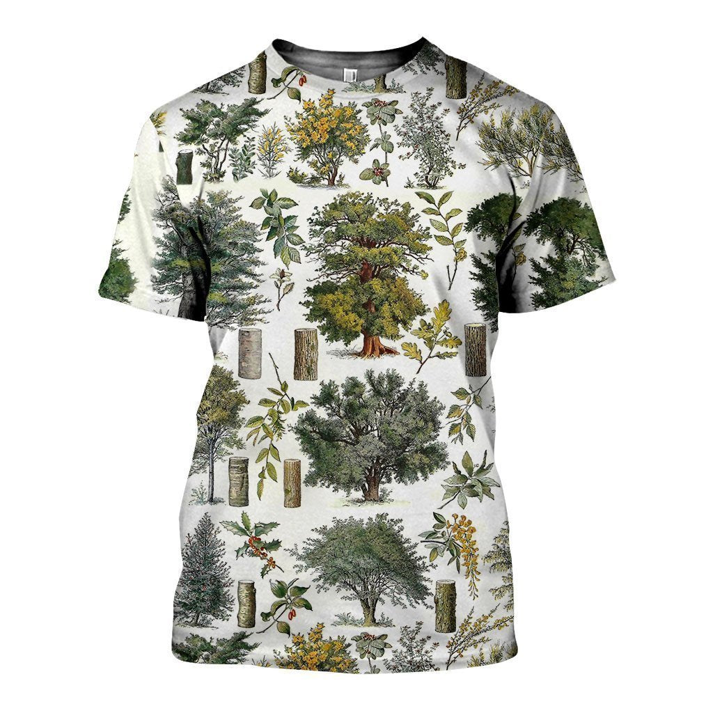 3D All Over Printed Vintage Forest Shirts And Shorts SAGK031003 - Amaze Style™
