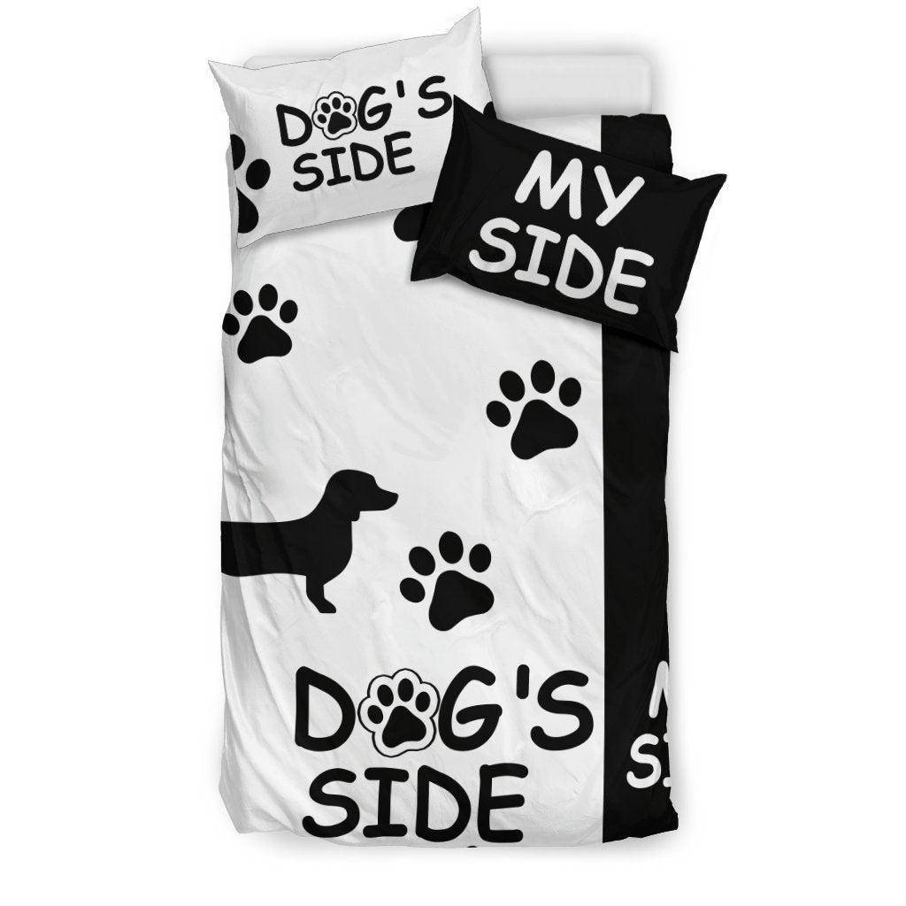 DACHSHUND DOG'S SIDE MY SIDE BEDDING SET - Amaze Style™
