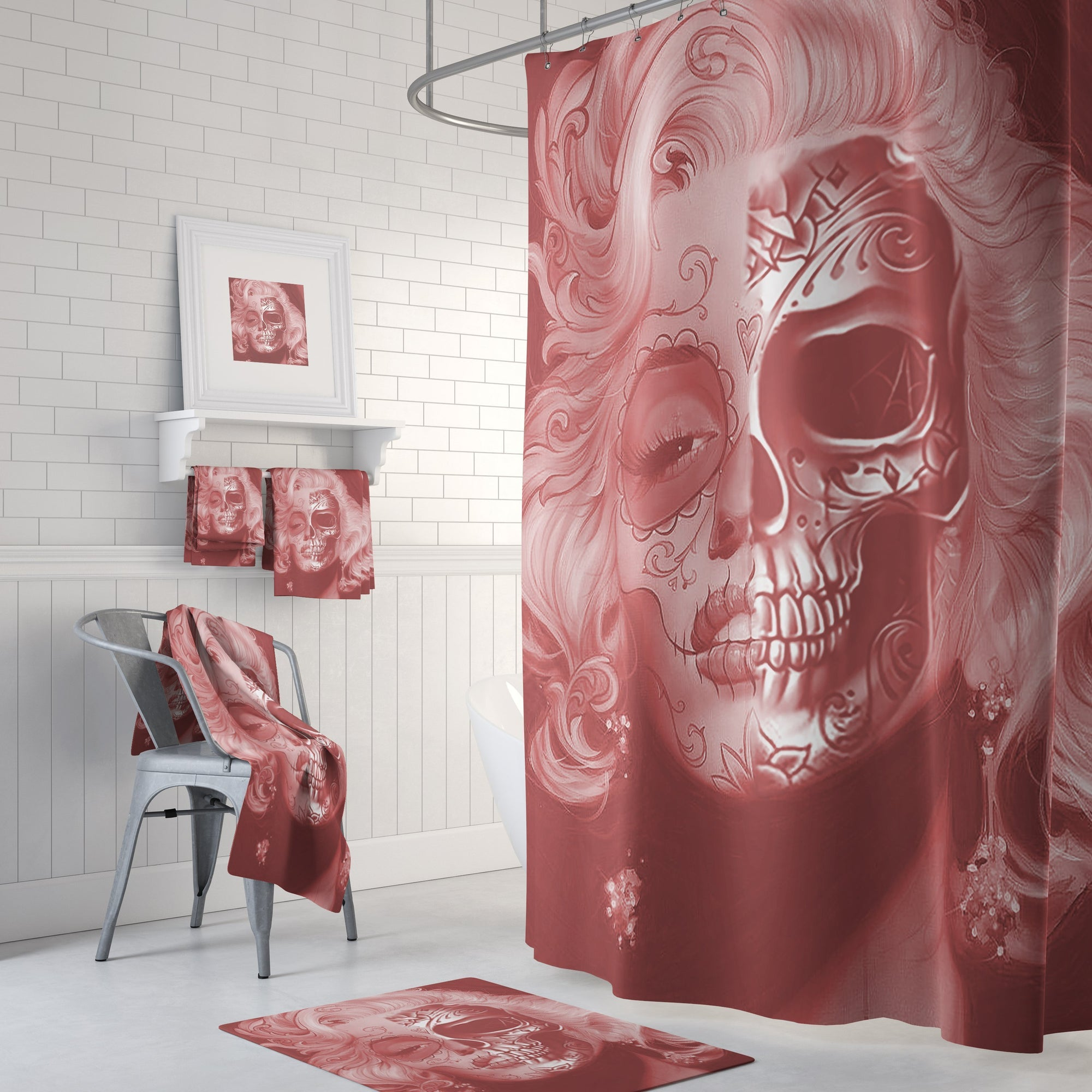 Beautiful skull face Set - Amaze Style™-Home Decor