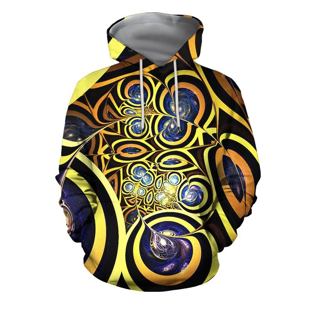 3D All Over Print Horus Eyes Motif Hoodie - Amaze Style™-Apparel
