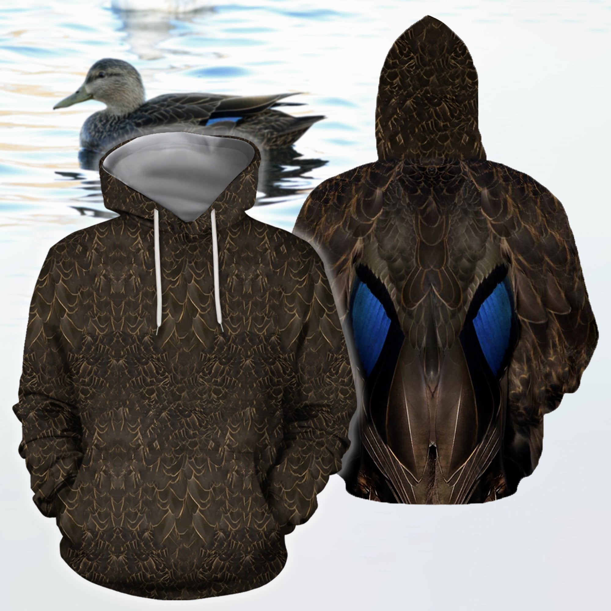 3D All Over Printed Female Mallard Duck Cover - Amaze Style™
