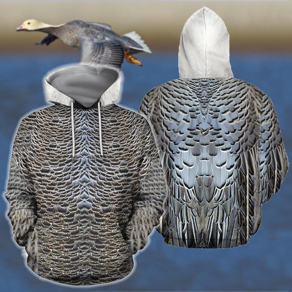 3D All Over Printed Royal Goose Shirts - Amaze Style™