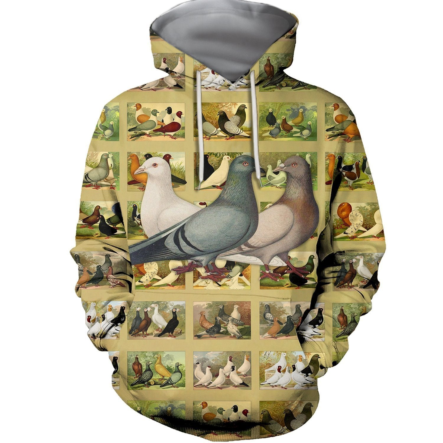 3D All Over Printed Beautiful Dove Hoodie - Amaze Style™