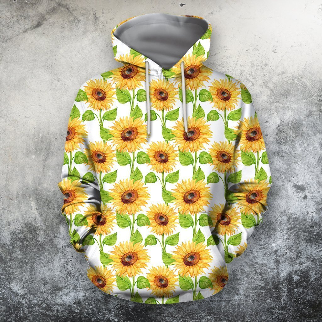 All Over Printing Beautiful Sunflowers Shirt - Amaze Style™-Apparel